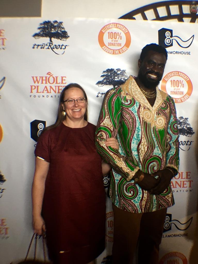Photo: Olowo-N'Djo and Tose Tchala, co-founders of Alaffia
