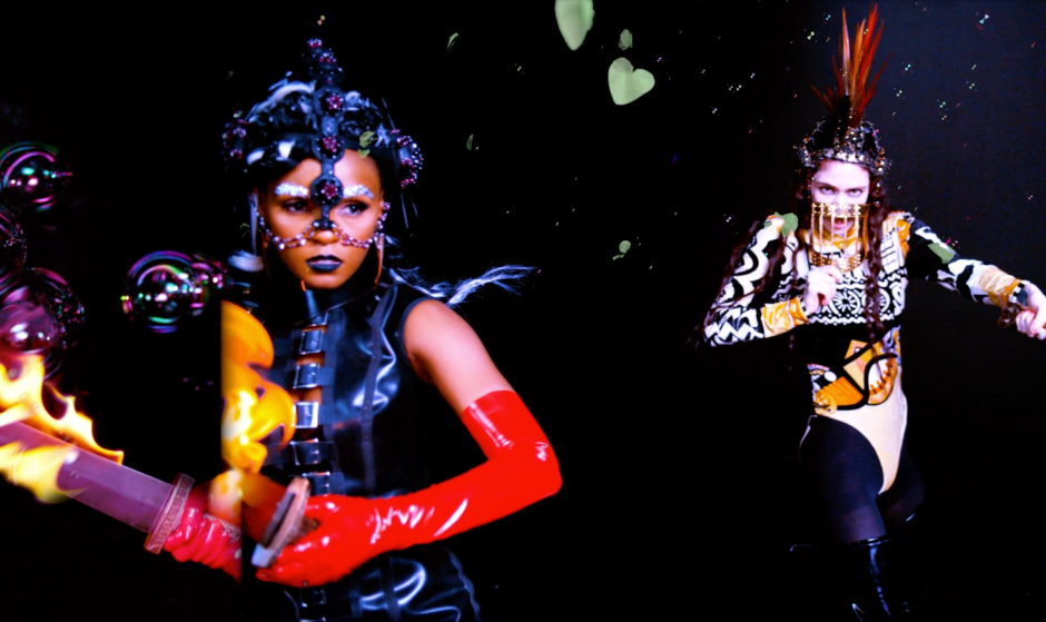 Photo: Grimes ft. Janelle Monáe - Venus Fly (Official Video) YouTube